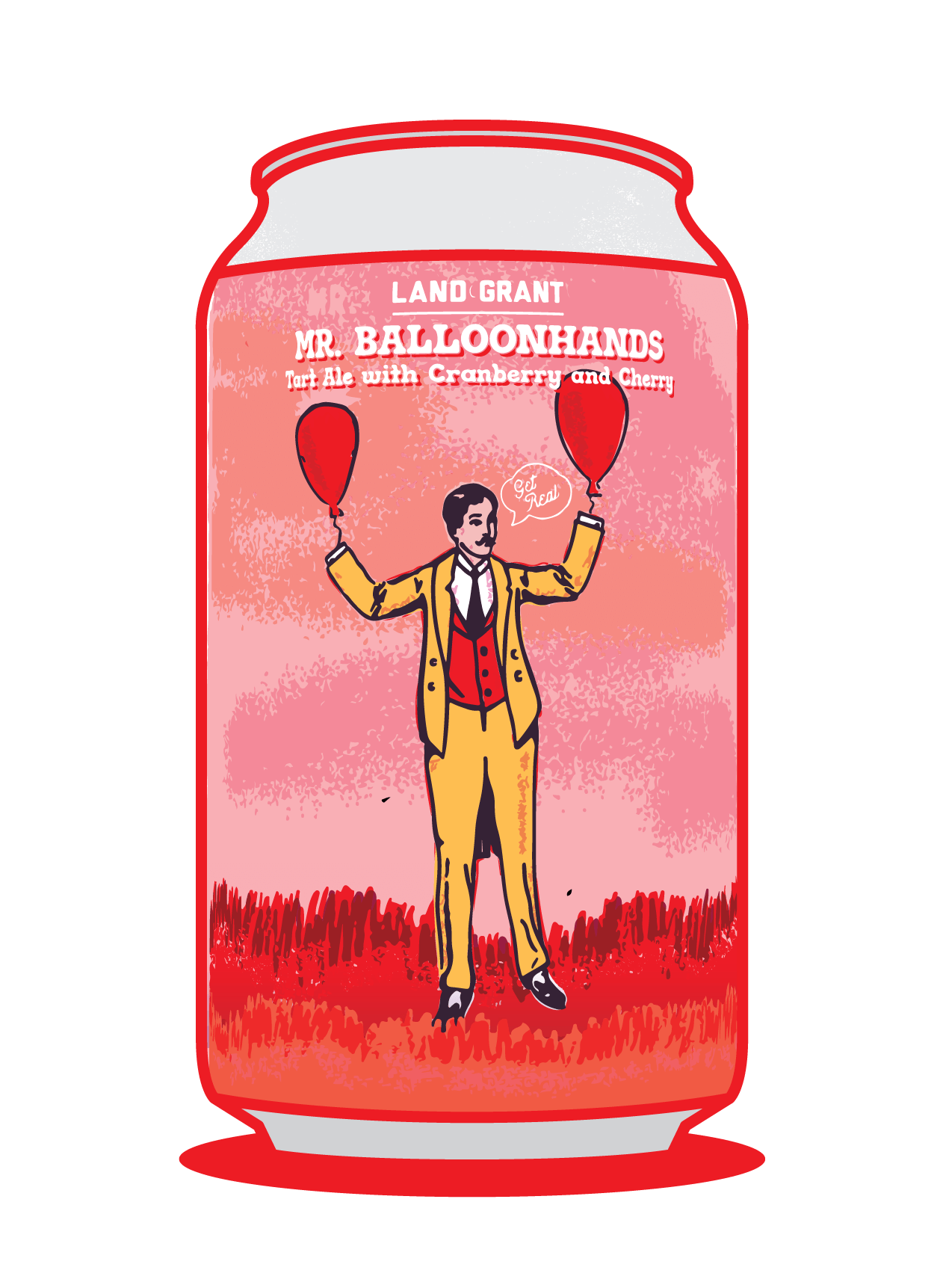 Mr. Balloonhands with Cranberry and Cherry  Image
