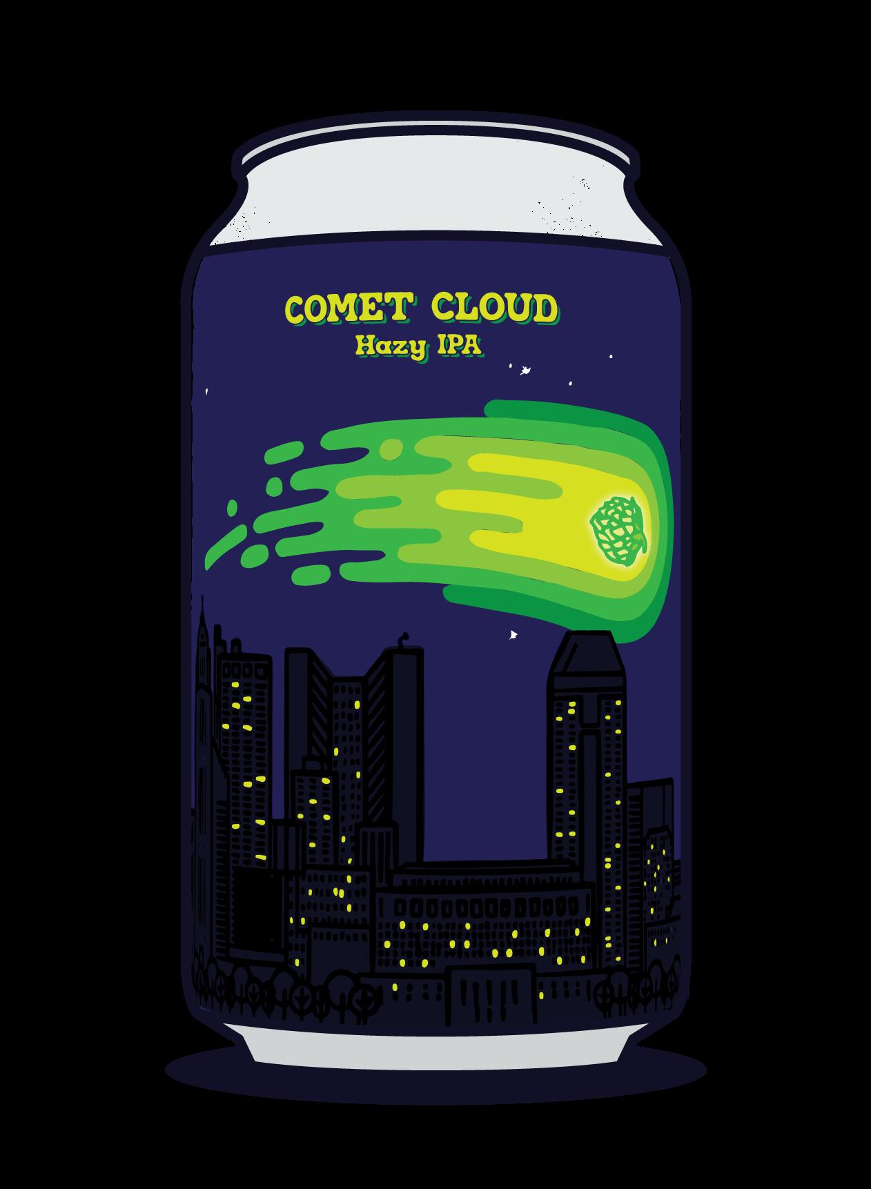 Comet Cloud Image