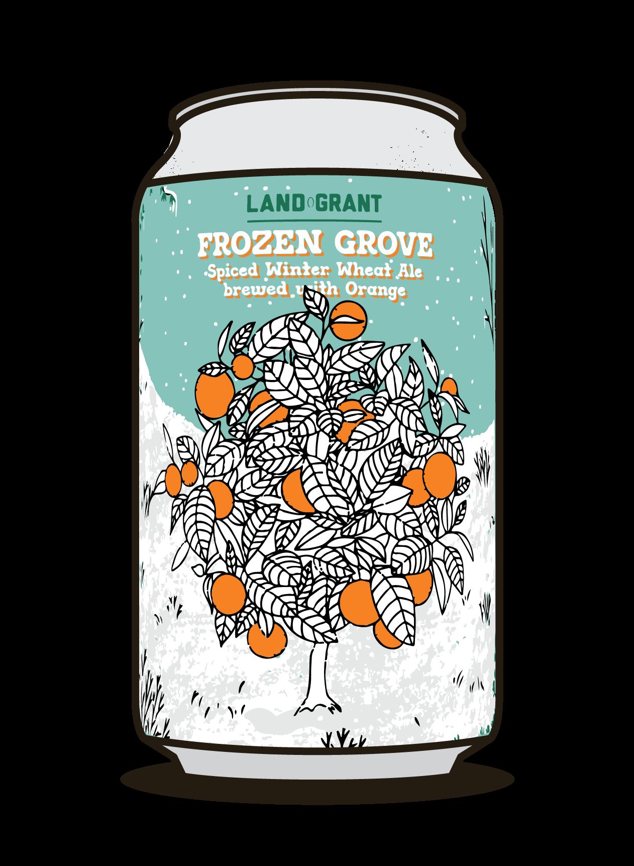 Frozen Grove  Image